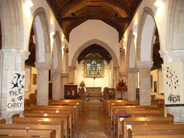 image of church interior